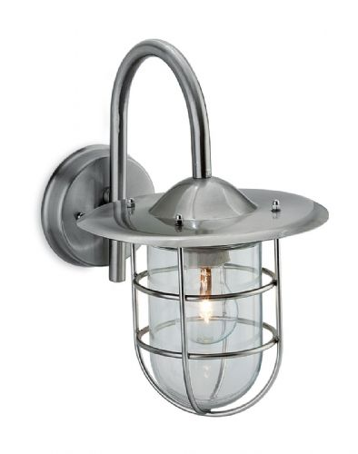 Firstlight 8352ST Stainless Steel Cage Wall Light